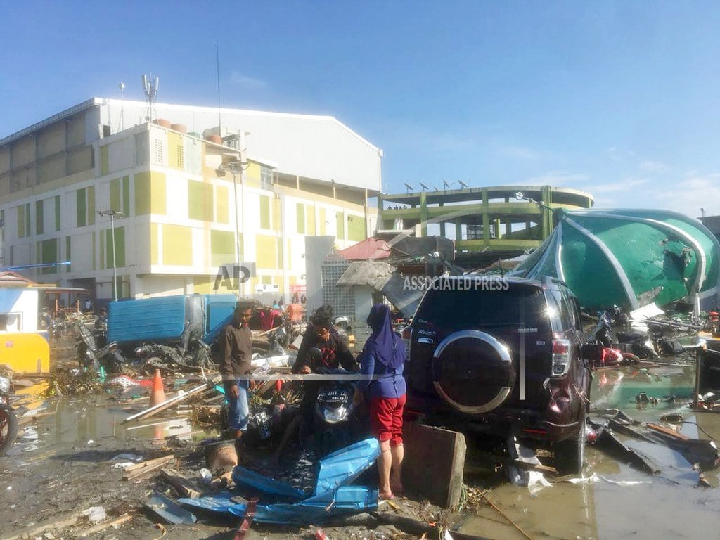 PALU, Indonesia | The Latest: Tsunami death toll in Indonesia jumps to 821
