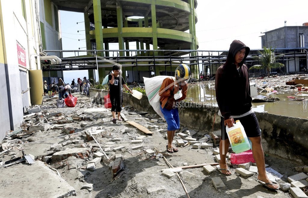 PALU, Indonesia | The Latest: Mass burial to be held for tsunami victims