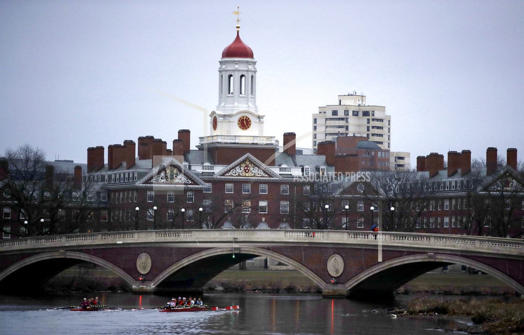 BOSTON   Harvard: Race can only help, never harm, applicants' chances