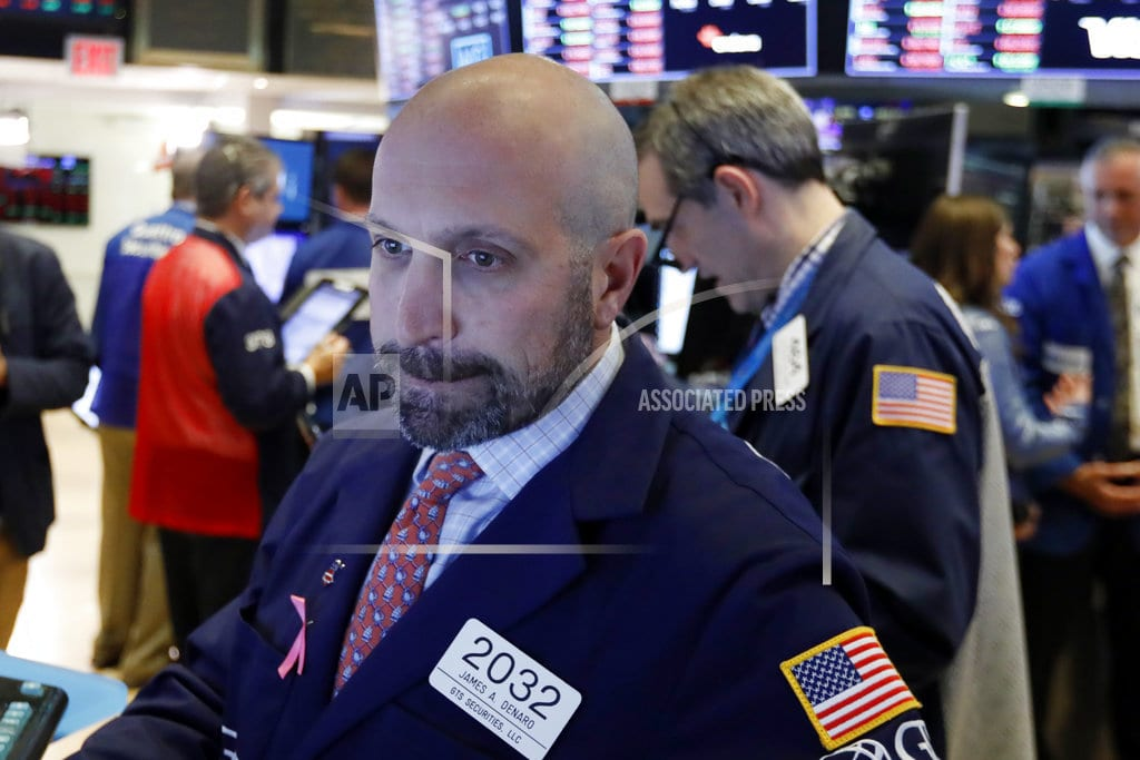 NEW YORK | US stocks jump following strong company earnings