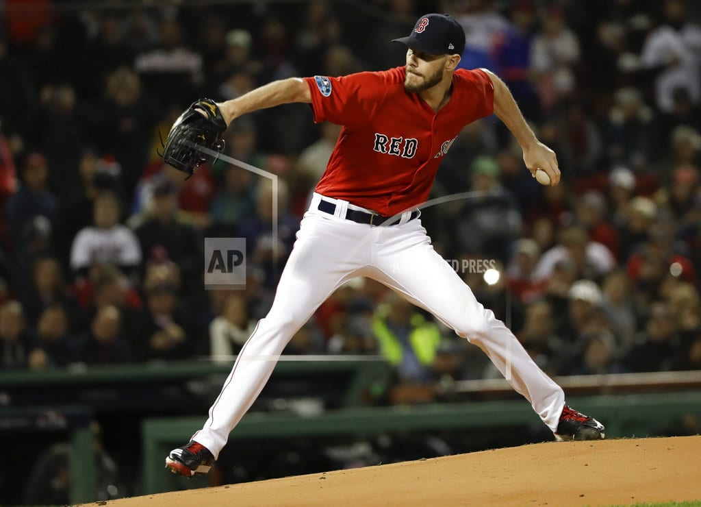 HOUSTON | Sale back with Red Sox, tells Cora he's 'good enough' to go
