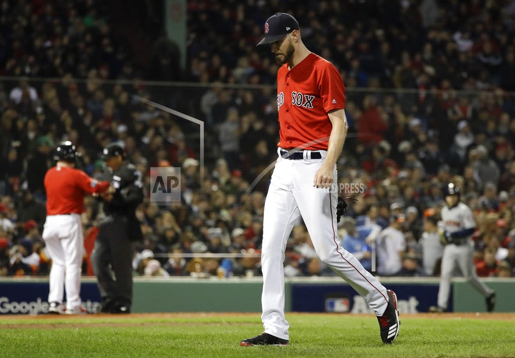 BOSTON | Red Sox ace Chris Sale hospitalized with stomach illness