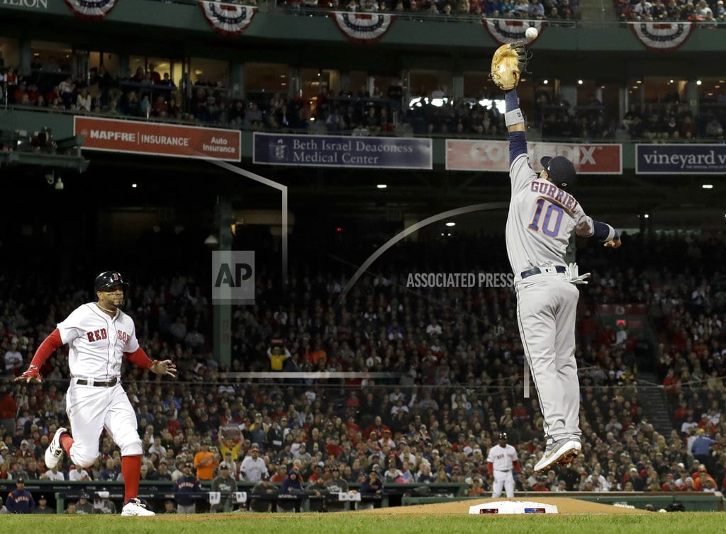 BOSTON | Cole struggles in 2nd playoff start with Astros