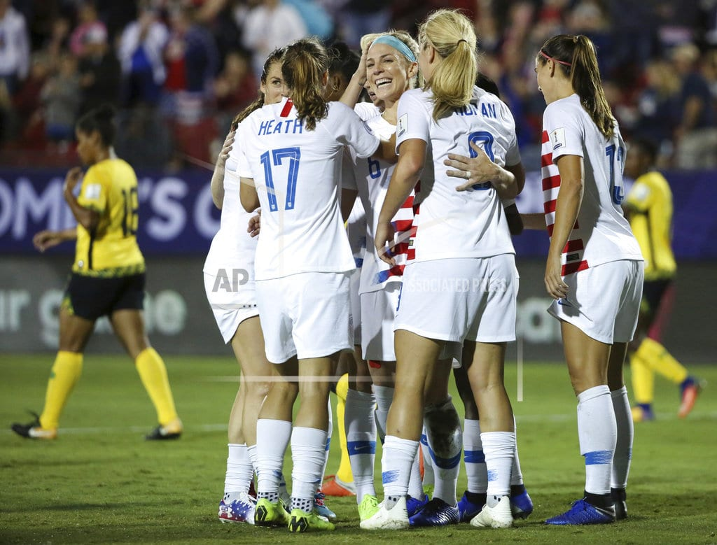 FRISCO, Texas | US headed to Women's World Cup with 6-0 win over Jamaica