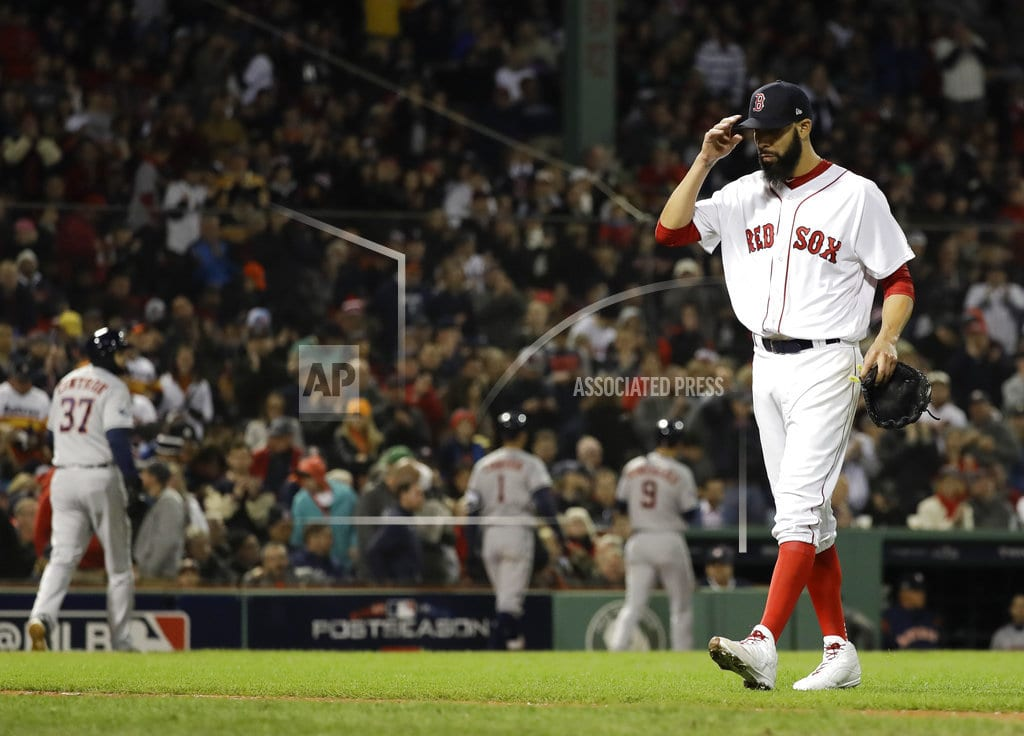 BOSTON | Price, Red Sox bounce back, beat Astros 7-5, tie ALCS 1-1