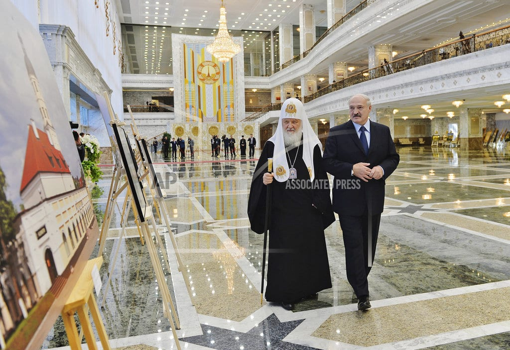 MOSCOW   Russian Orthodox Church breaks ties with Orthodoxy's leader