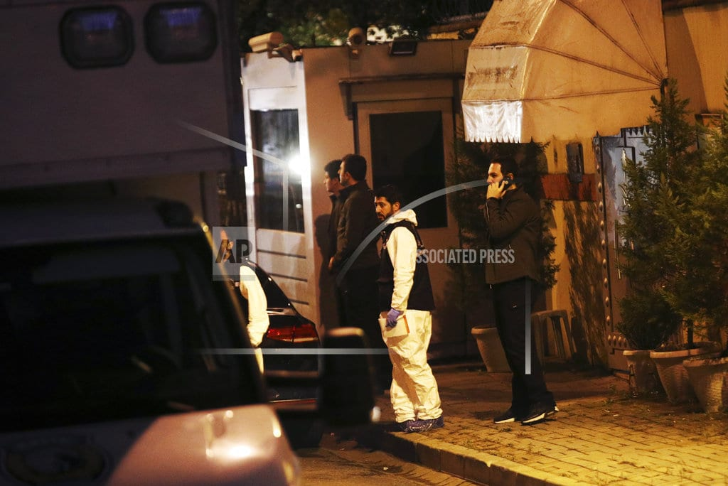 ISTANBUL | The Latest: Report: Saudis ready to concede writer was slain