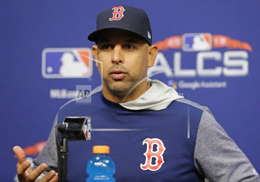 HOUSTON | Sale not ready to pitch for Red Sox in Game 5 of ALCS