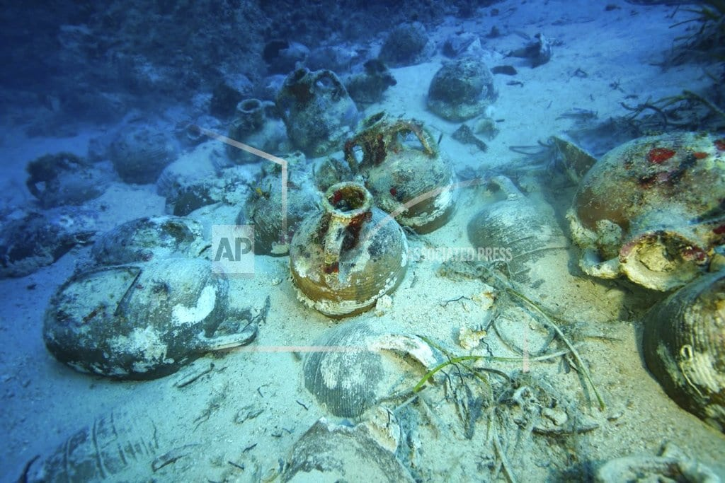 ATHENS, Greece| Greece: Ancient wrecks, pottery found at ships' 'graveyard'