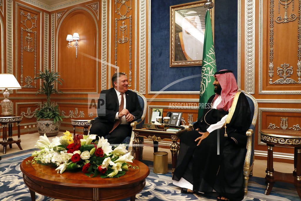 ISTANBUL | The Latest: Pompeo: Saudis have commitment to accountability