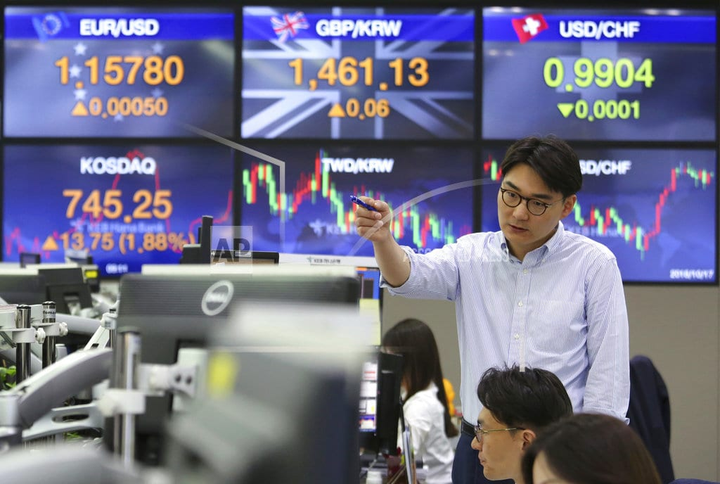 SINGAPORE | World shares mostly higher before EU meets to discuss Brexit