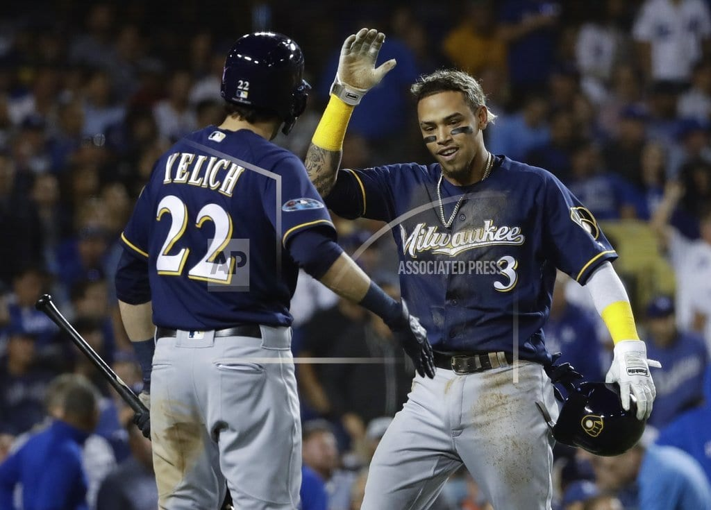 LOS ANGELES | Power outage: Brewers' bats struggle in 13-inning loss