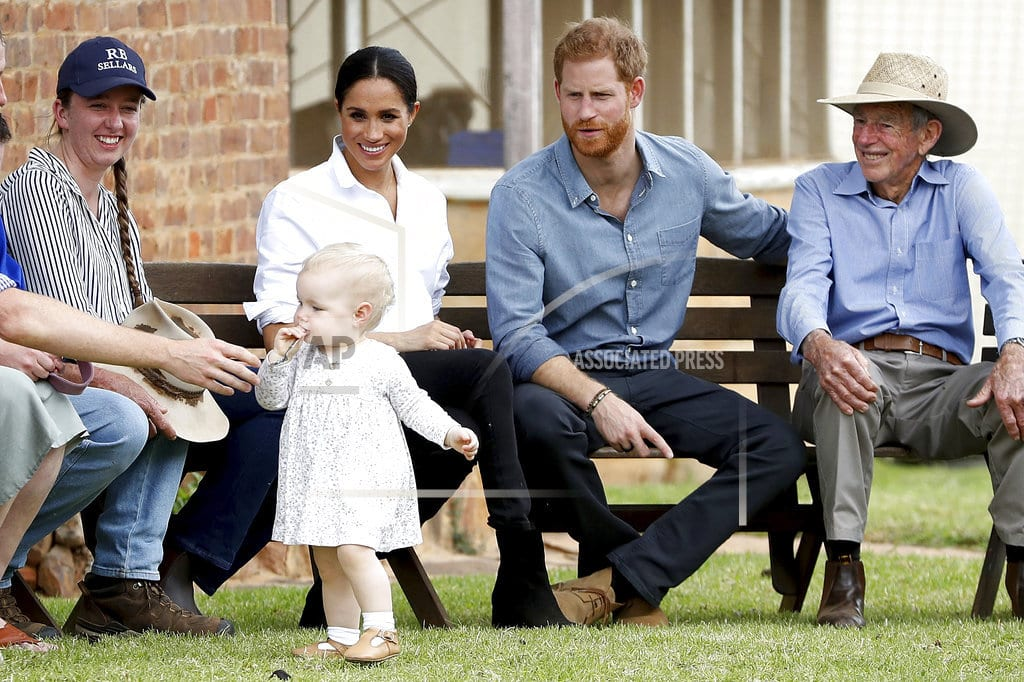 DUBBO, Australia | Harry and Meghan get wet in drought-stricken Outback town