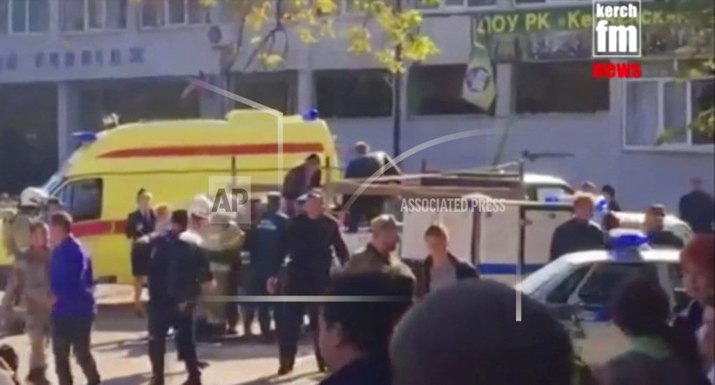 MOSCOW | Russian official: Student gunman killed 17 at Crimea college