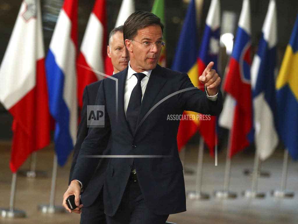 BRUSSELS | Dutch leader asks Italy to stick to budget rules