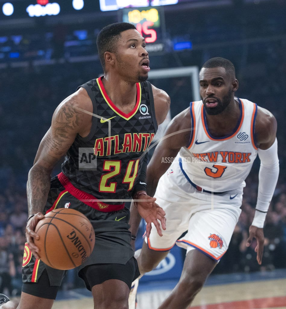 NEW YORK | Knicks overwhelm Young, Hawks 126-107 in Fizdale's debut