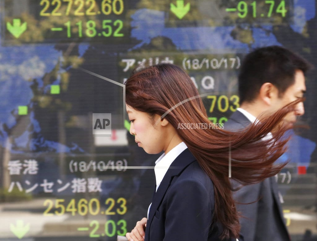 BANGKOK | World stock markets mostly dip on Fed views on rates