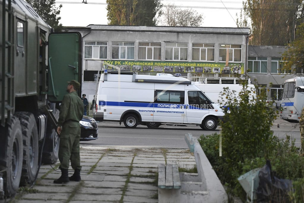 MOSCOW | The Latest: Crimea hunts possible school attack accomplice