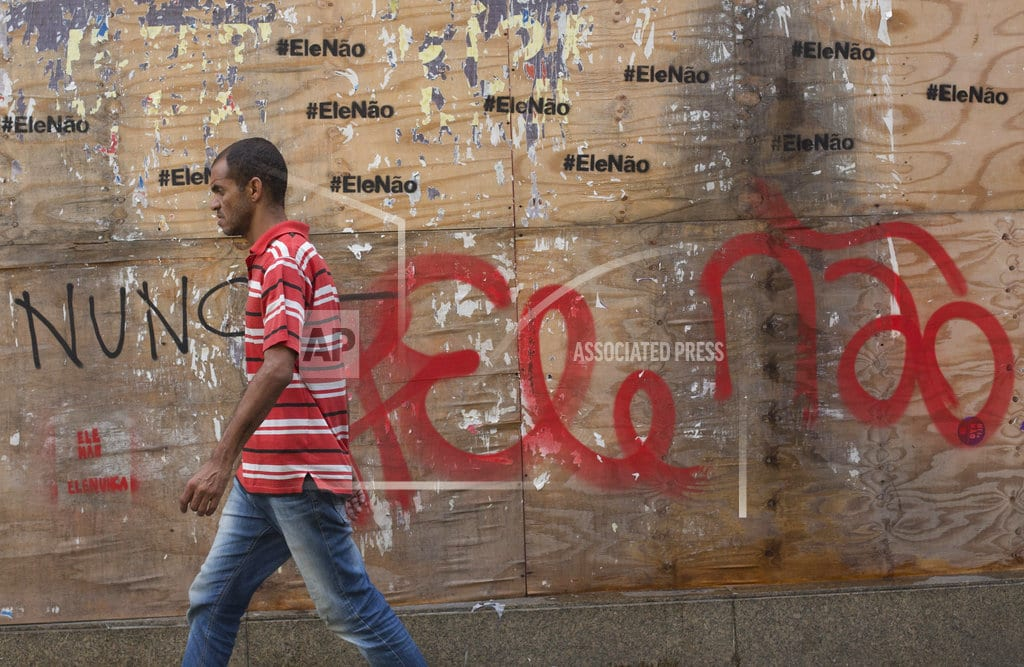 RIO DE JANEIRO | For many Brazilians, election is picking 'lesser of evils'
