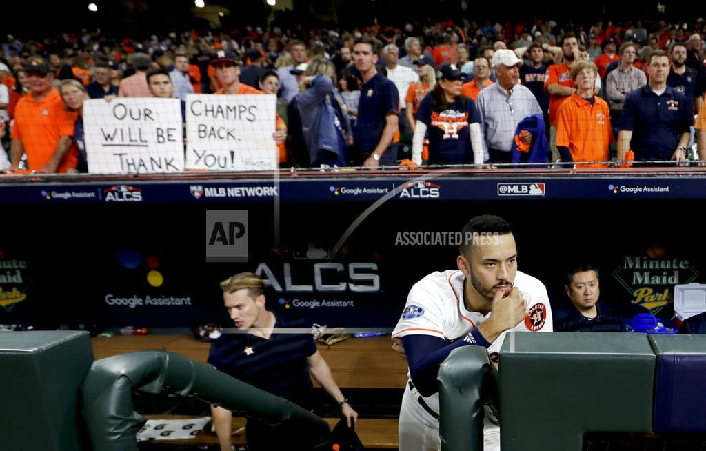 HOUSTON | Aching Astros miss chance to repeat after ALCS defeat