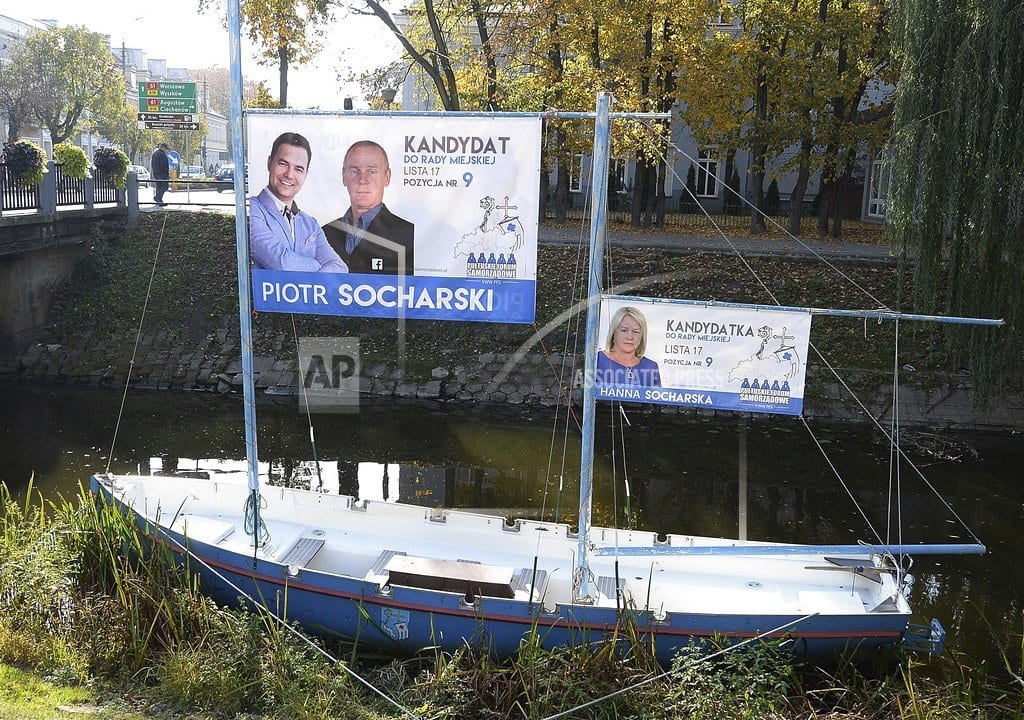 WARSAW, Poland | Poland: Local races offer gauge of ruling party's support
