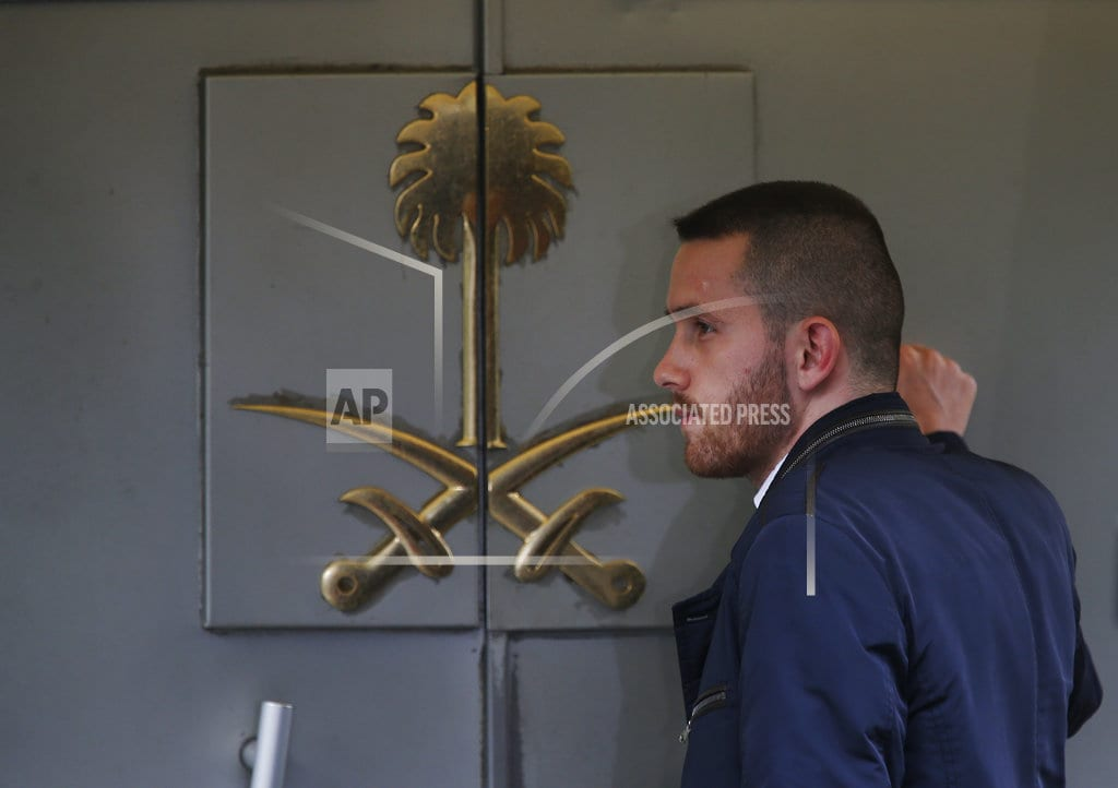 ISTANBUL | The Latest: Germany reassessing arms sales to Saudi Arabia