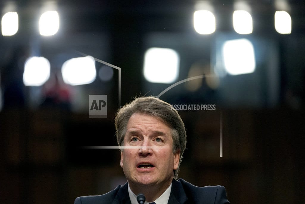WASHINGTON  | AP-NORC Poll: Just 1 in 4 thinks Kavanaugh told entire truth