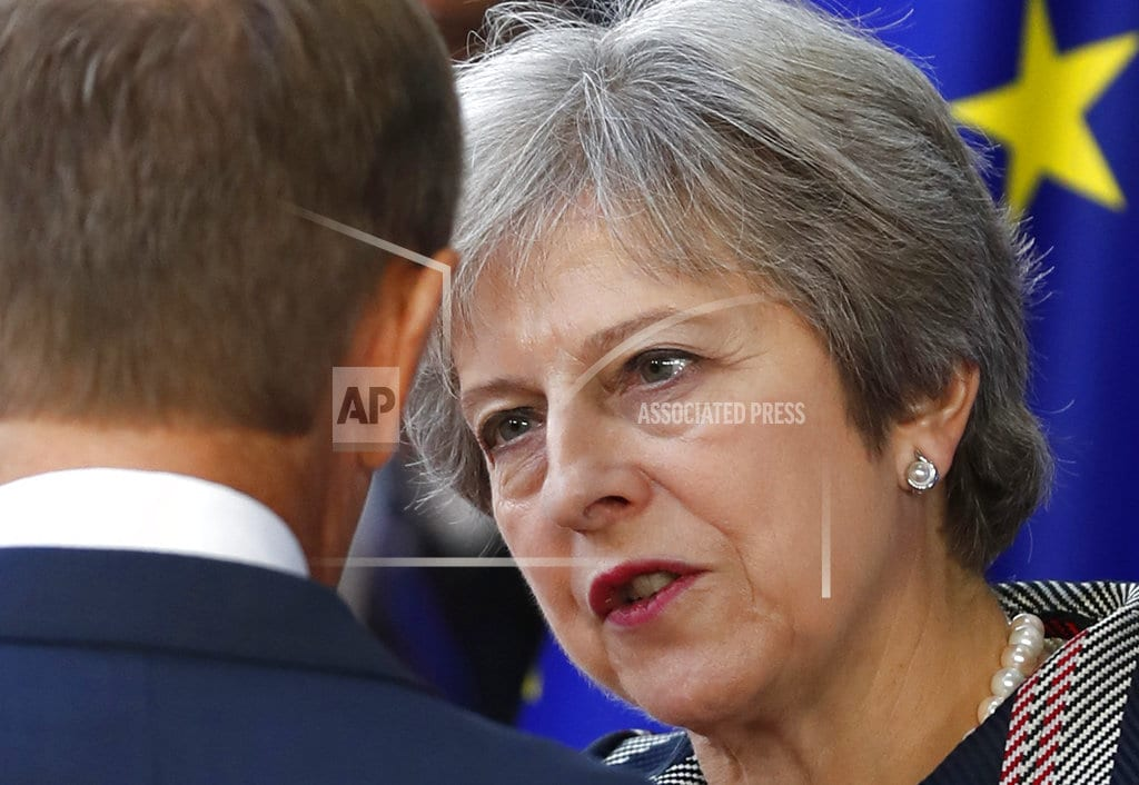 LONDON   UK's May pleads for support, says Brexit deal almost done
