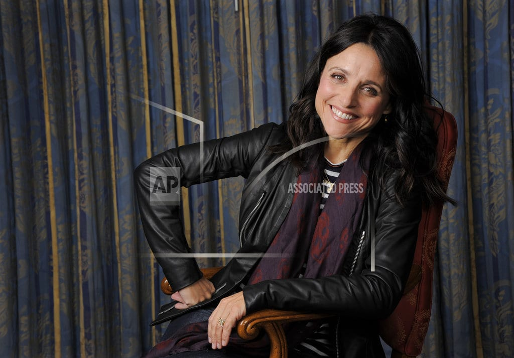 WASHINGTON | The Latest: Louis-Dreyfus recalls knowing she had the 'gift'
