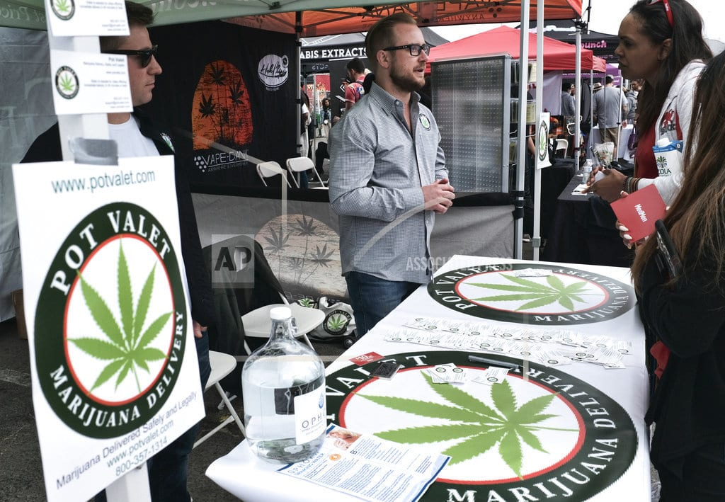 LOS ANGELES| California rolling forward with pot delivery regulations