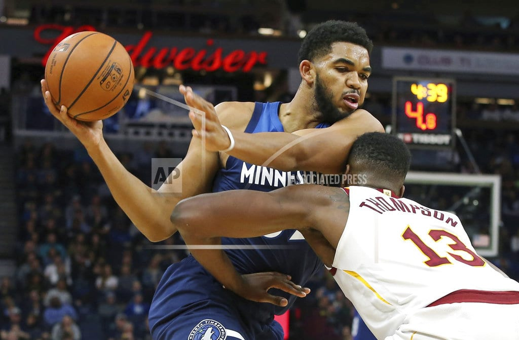 MINNEAPOLIS | Butler leads T-wolves with 33 points in 131-123 win vs. Cavs