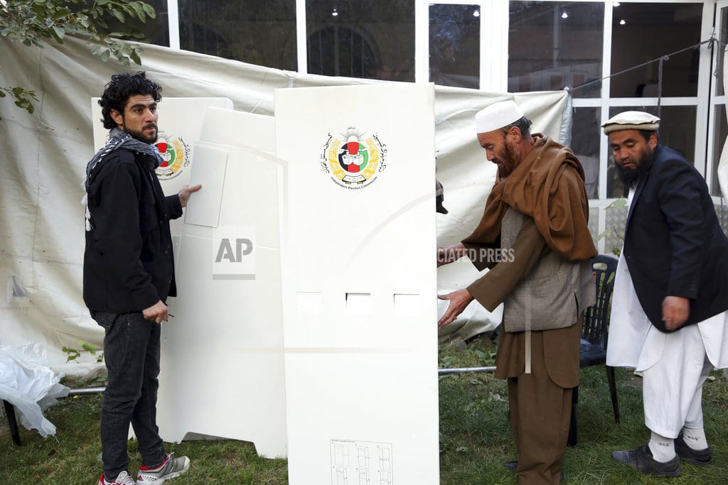 KABUL, Afghanistan | Chaotic Afghan parliamentary polls draw to a close
