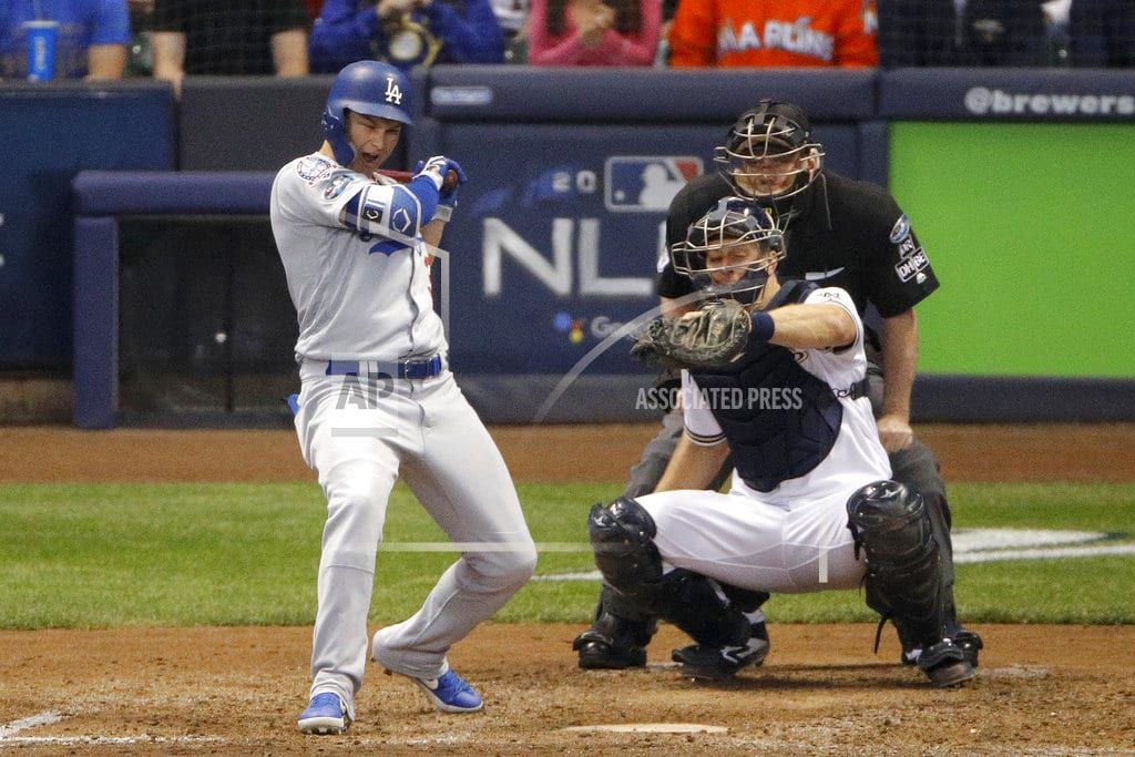MILWAUKEE| Dodgers ace Kershaw available in 'pen vs Brewers in Game 7