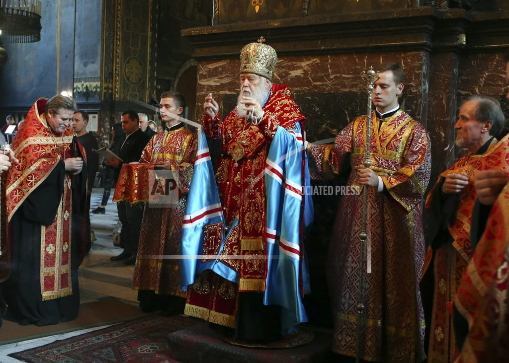 KIEV, Ukraine | Birth of a new Ukrainian church brings fears of violence