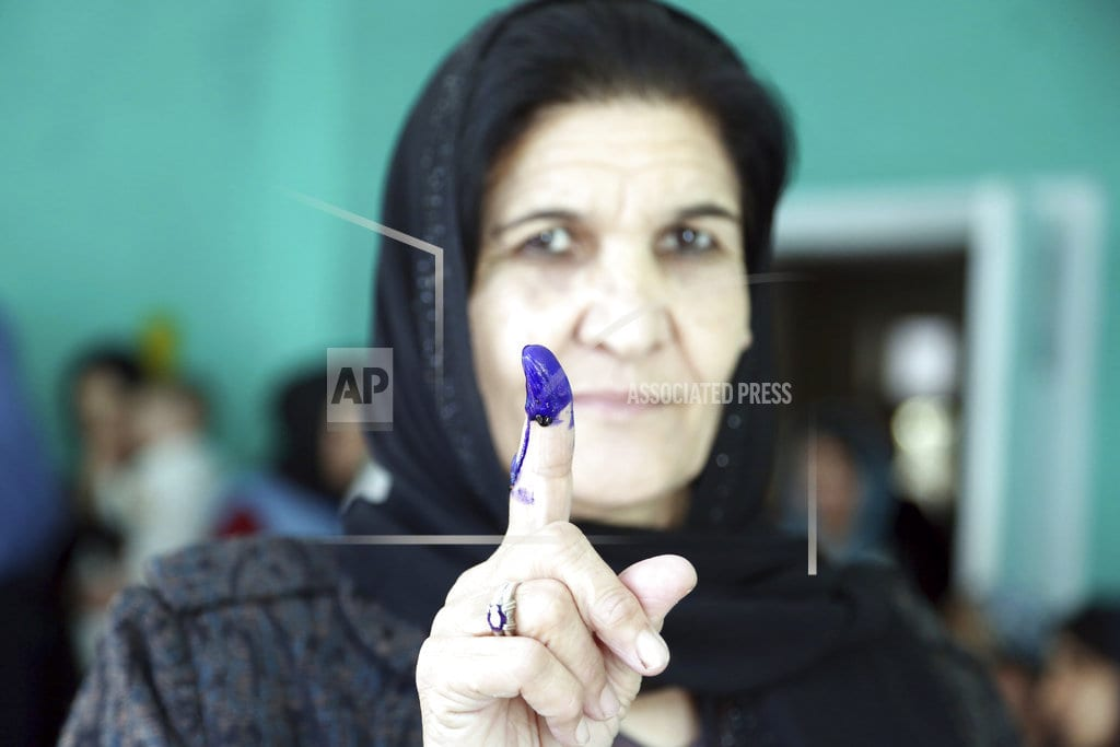 KABUL, Afghanistan | Chaotic, bloody Afghan parliamentary elections enter 2nd day