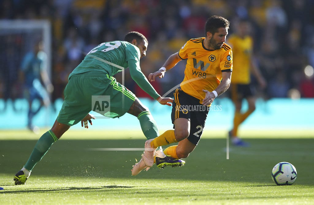WOLVERHAMPTON, England | Watford end 5-match winless run in EPL at Wolves' expense