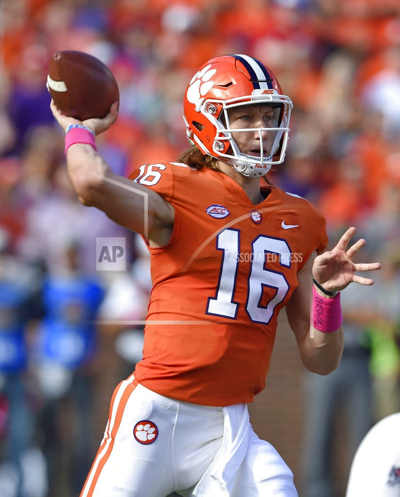 CLEMSON, S.C. | ACC Rout: No. 3 Clemson tops No. 16 North Carolina St 41-7