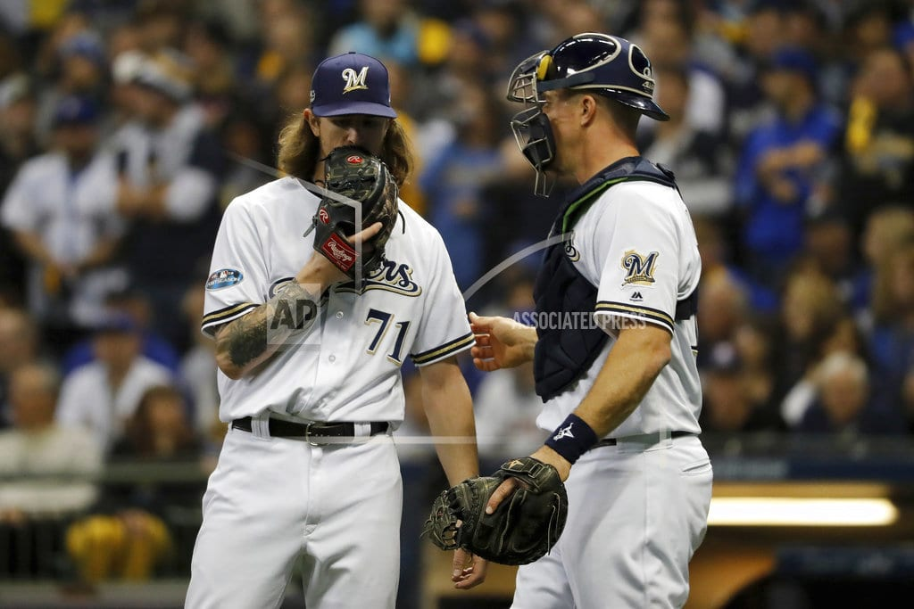 MILWAUKEE | Brewers' bullpen runs out of gas in Game 7 loss to Dodgers