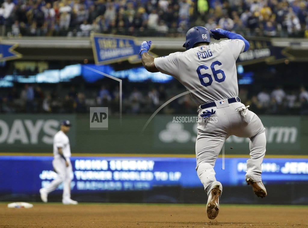 MILWAUKEE | Dodgers beat Brewers in Game 7, face Red Sox in World Series