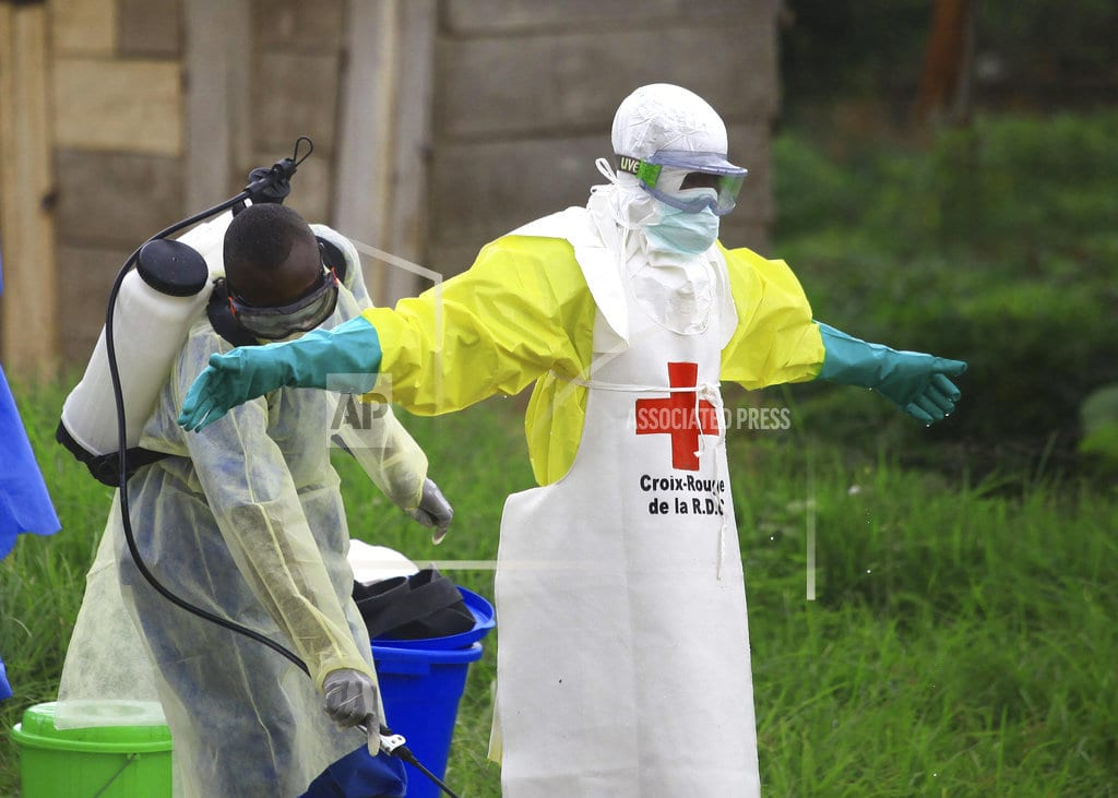 JOHANNESBURG | Health workers in Congo's Ebola outbreak attacked weekly