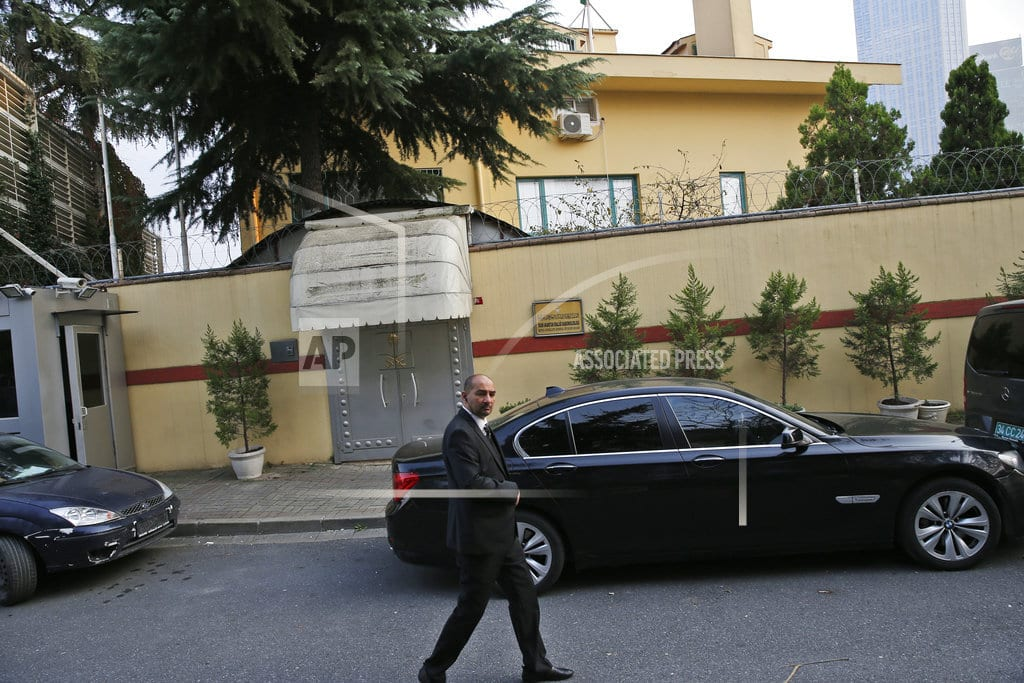ISTANBUL | The Latest: UK, Germany, France condemn writer's killing