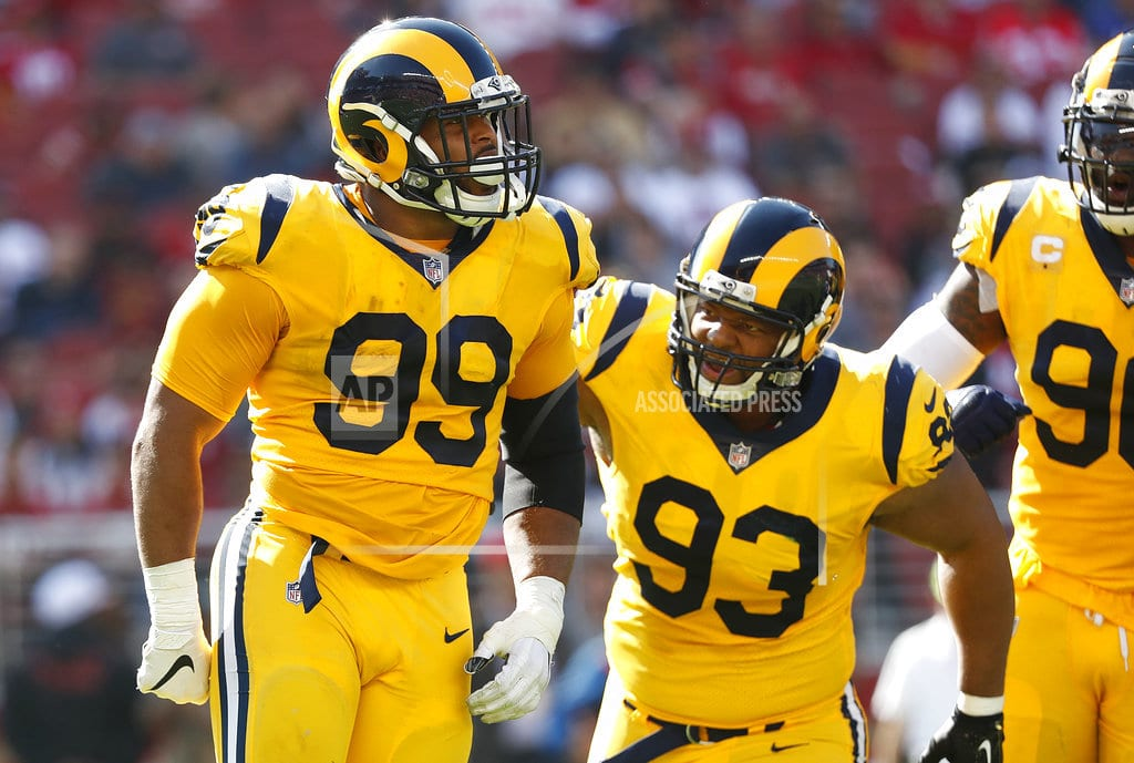SANTA CLARA, Calif | Gurley's 3 TDs lead Rams to 39-10 win vs 49ers and 7-0 start