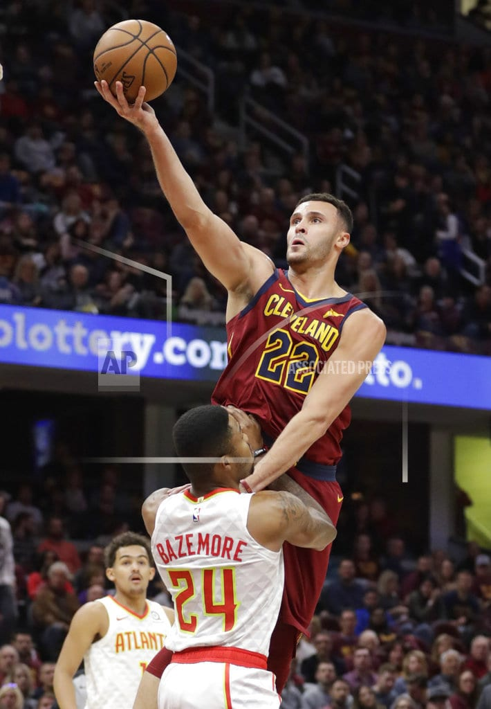CLEVELAND | Rookie Young scores 35, Hawks rout LeBron-less Cavs 133-111