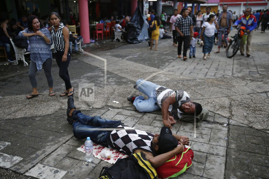 TAPACHULA, Mexico | Over 7K-strong, migrant caravan pushes on; still far from US
