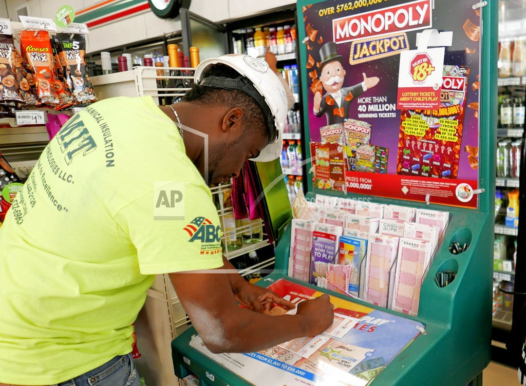 DES MOINES, Iowa  Huge lottery prizes due to simple math, with a few surprises