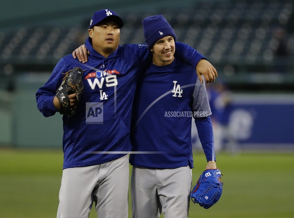 BOSTON | Dodgers Game 2 starter Ryu looking to exorcise road demons