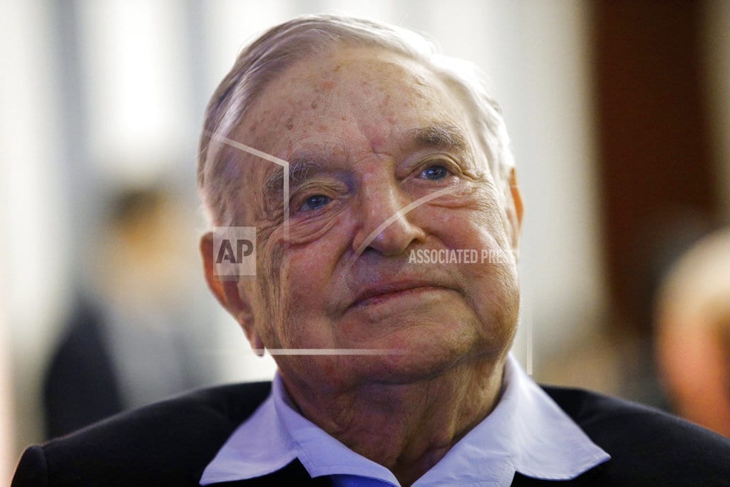 BEDFORD, N.Y. | Authorities: Explosive device found near George Soros' home