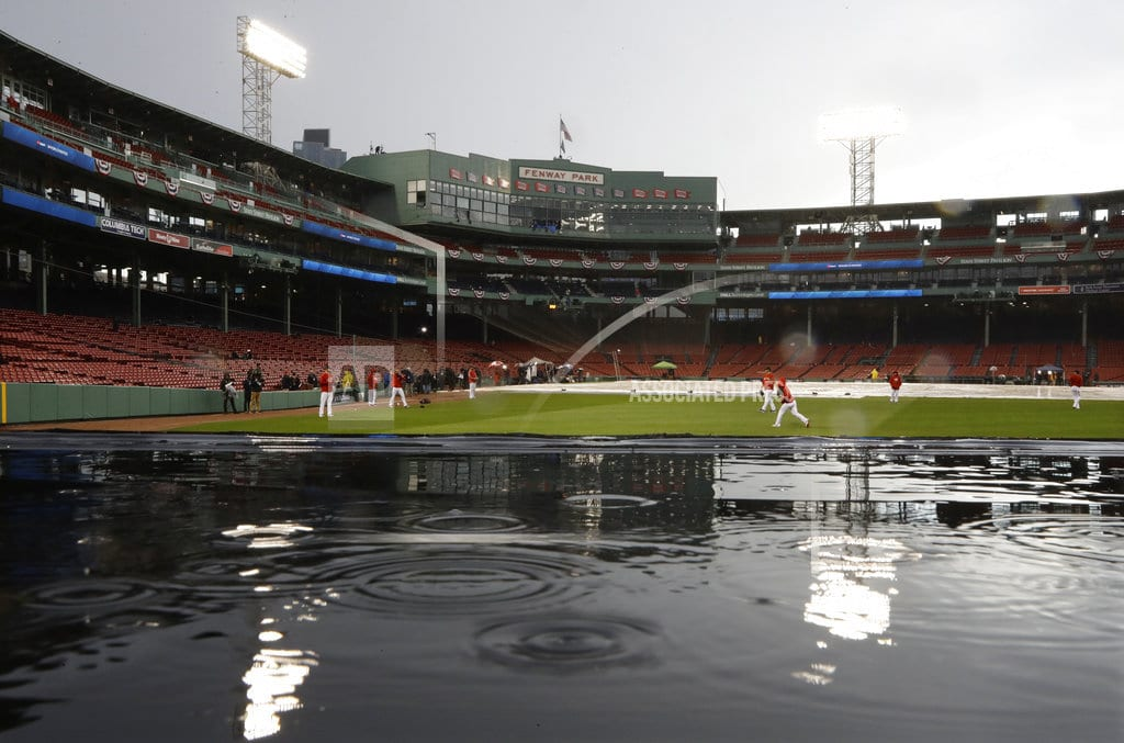 BOSTON | The Latest: Red Sox take early 2-1 lead over Dodgers