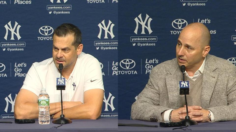 Cashman: 'Yankees are about championships'