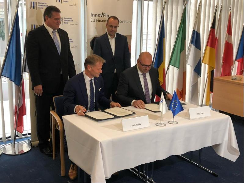 EIB supports SPP-distribúcia and GreenWay investments to upgrade SloEIB News: vakia's energy infrastructure, moves its Bratislava office to the European House